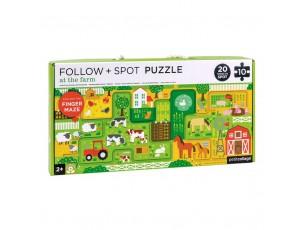 Puzzle, busca en la granja  Petit Collage