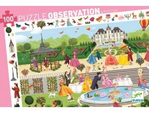Puzzle observación Fiesta en el jardín  Djeco