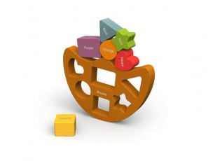 Balance Boat, equilibrio formas y colores  Begin Again