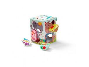 Crunch box, caja de formas  Lilliputiens