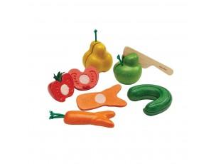 Frutas y verduras imperfectas para cortar  Plantoys