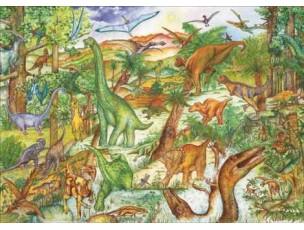Puzzle observación Dinosaurios  Djeco