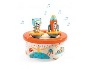 Caixa de música Space Melody-Djeco