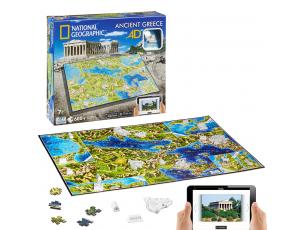 Puzzle Grecia antigua 4D  4d cityscape