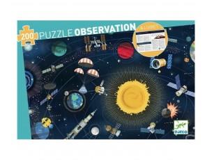 Puzzle observación Espacio  Djeco