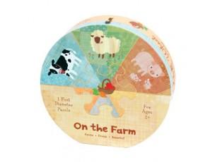 Puzzle rueda en la granja  Mudpuppy