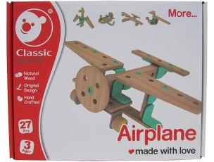 Set construcción avión  Classic World
