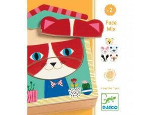 Puzzle Face mix  Djeco