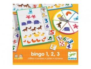 Eduludo Bingo 1 2 3  Djeco