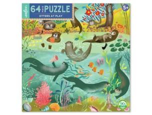 Puzzle nutrias  Eeboo