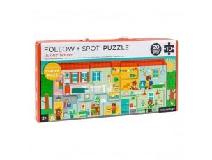 Puzzle, busca en la casa  Petit Collage