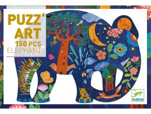 Puzzle Art Elefante  Djeco