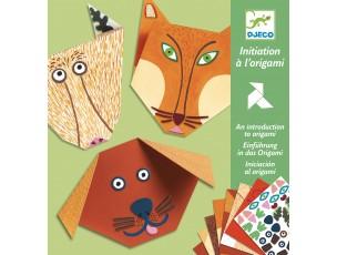 Origami animales (iniciación)  Djeco