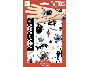 Tattoos Piratas  Djeco