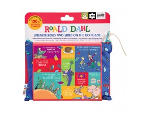 Puzzle Roald Dahl 2 en 1  Petit Collage
