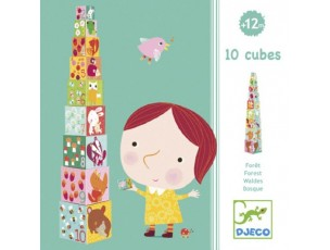 10 Cubos  Djeco