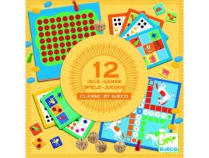 12 Juegos Clásicos  Djeco