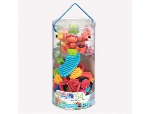 Bristle Blocks Tubo 54 piezas  B. Toys