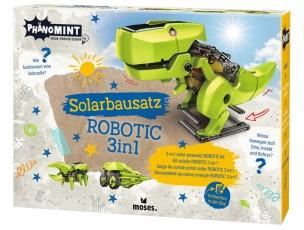 Solar Robotic 3 en 1  Moses