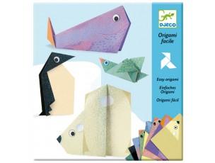 Origami fácil animales polares  Djeco