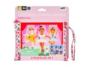 Puzzle Bailarinas 2 en 1  Petit Collage