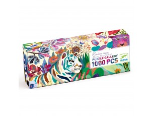 Puzzle Gallery Rainbow Tigers  Djeco