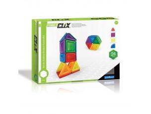 Power Clix sólidos 24 piezas  Guidecraft