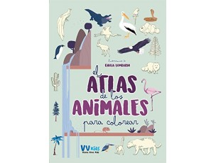Atlas de los animales para colorear  VV Kids